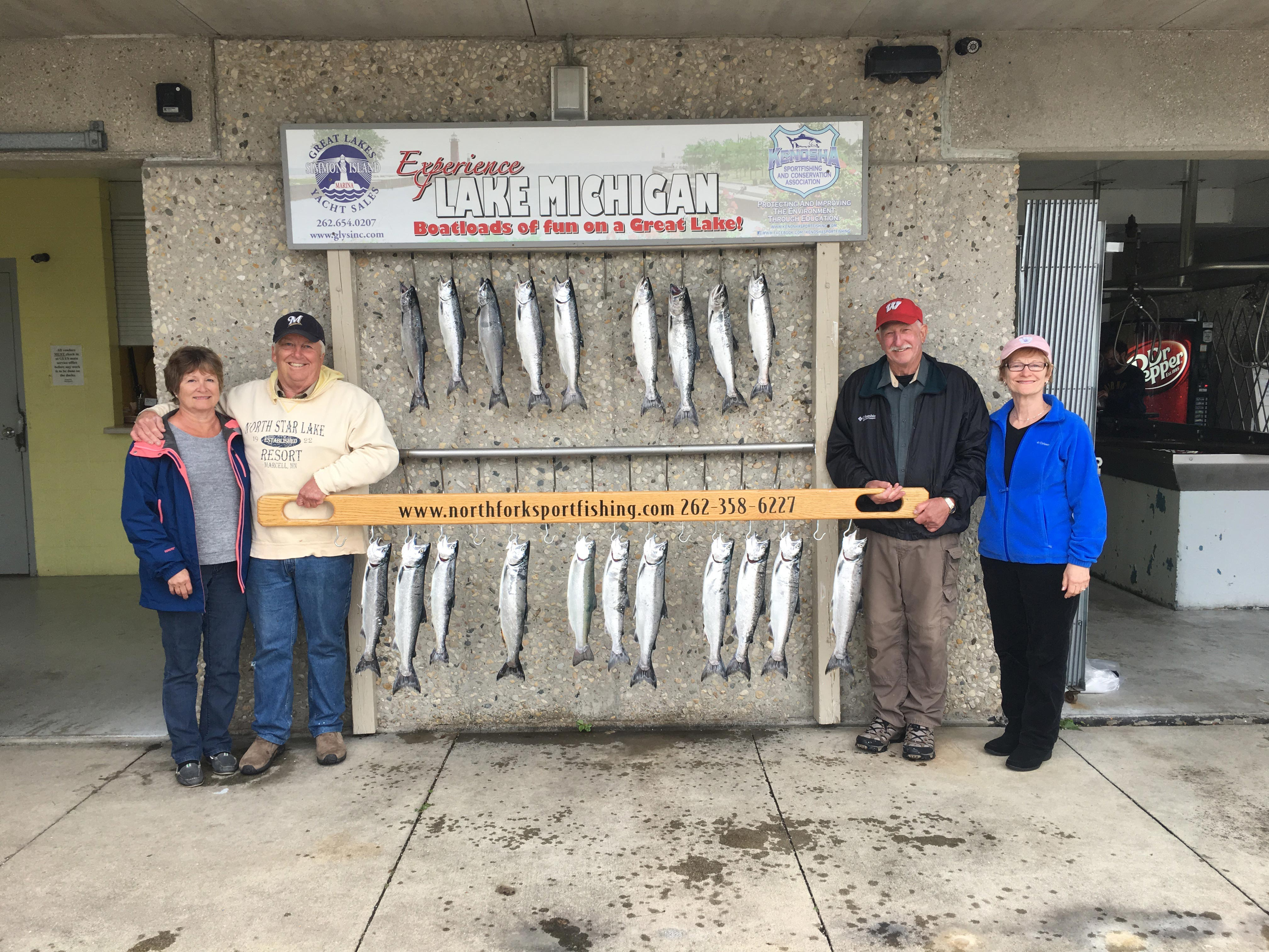 near-milwaukee-charter-fishing-age-was-not-a-factor-for-these-couples-catching-their-limit