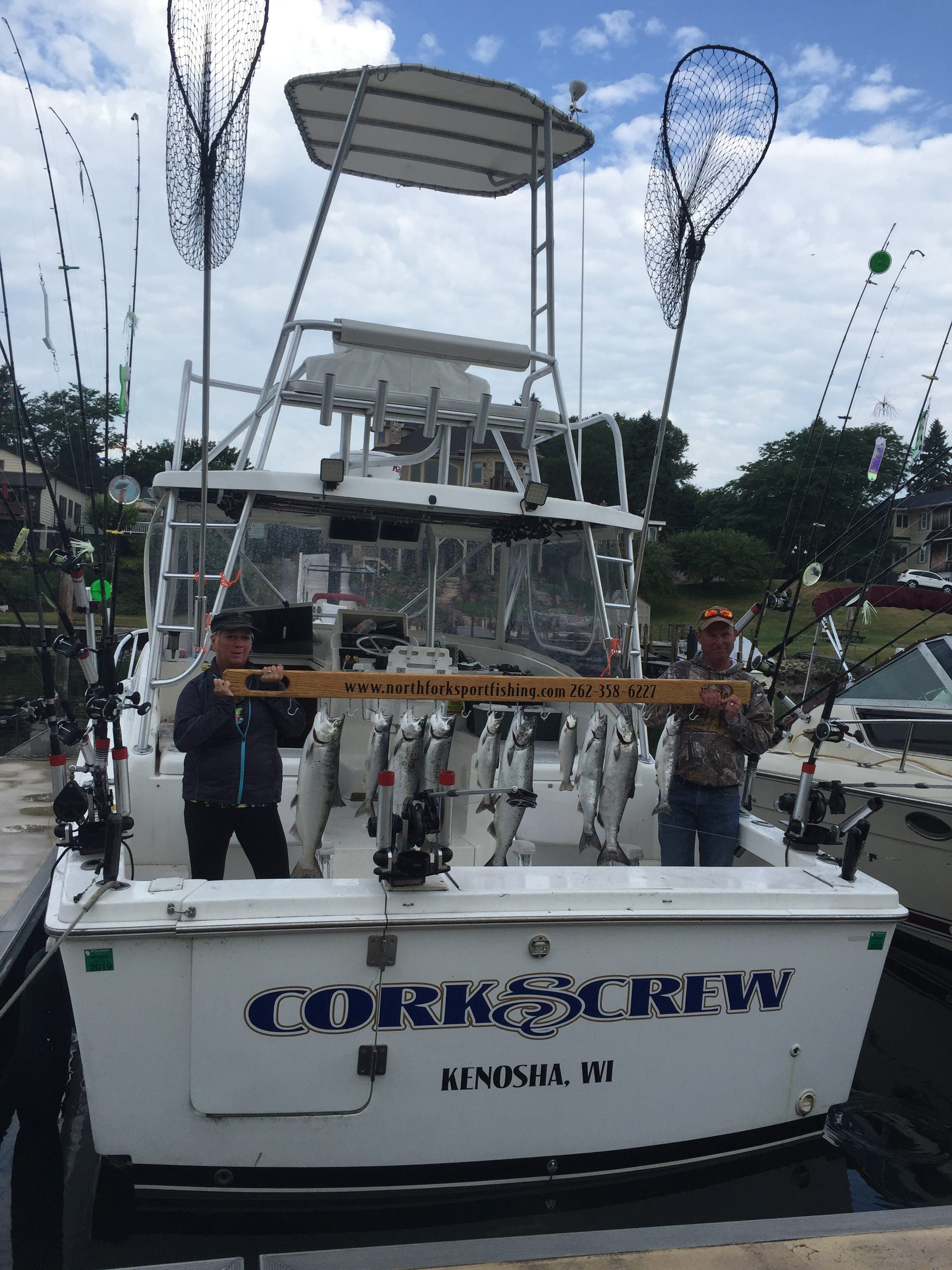 trophy-fish-pole-with-north-fork-sportfishing-charters
